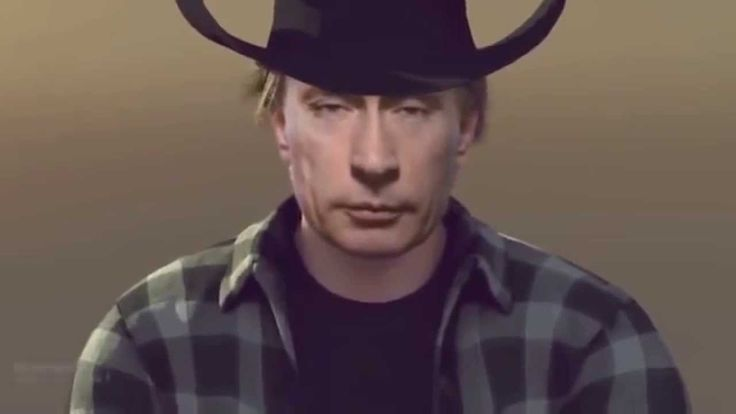 Новогодний Путин. Мы вежливо летим к вам!