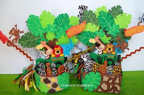 safari centerpiece