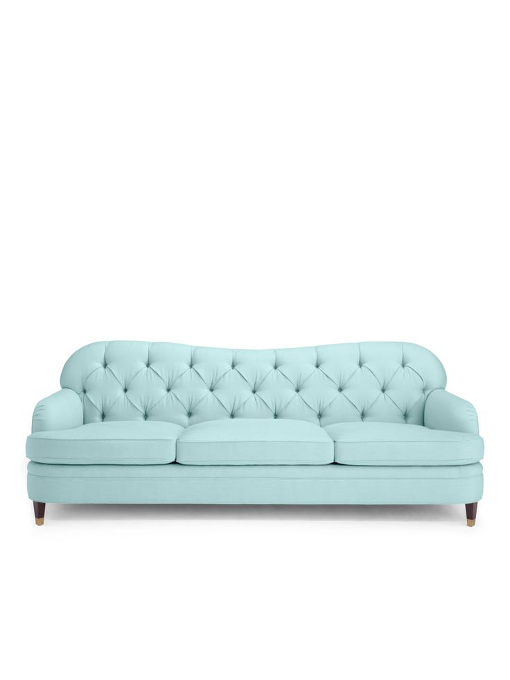 Drake Tufted Sofa: http://www.stylemepretty.com/living/2015/10/20/kate-spade-debuts-new-home-collection-youre-going-to-want-to-redecorate-immediately/