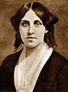 Louisa May Alcott (1832 - 1888) fue una escritora estadounidense, reconocida por su famosa novela Mujercitas (1868). Comprometida con el movimiento abolicionista y el sufragismo, escribió bajo el seudónimo de A.M. Barnard una colección de novelas y relatos en los que se tratan temas tabúes para la época como el adulterio y el incesto. #DíadelasEscritoras