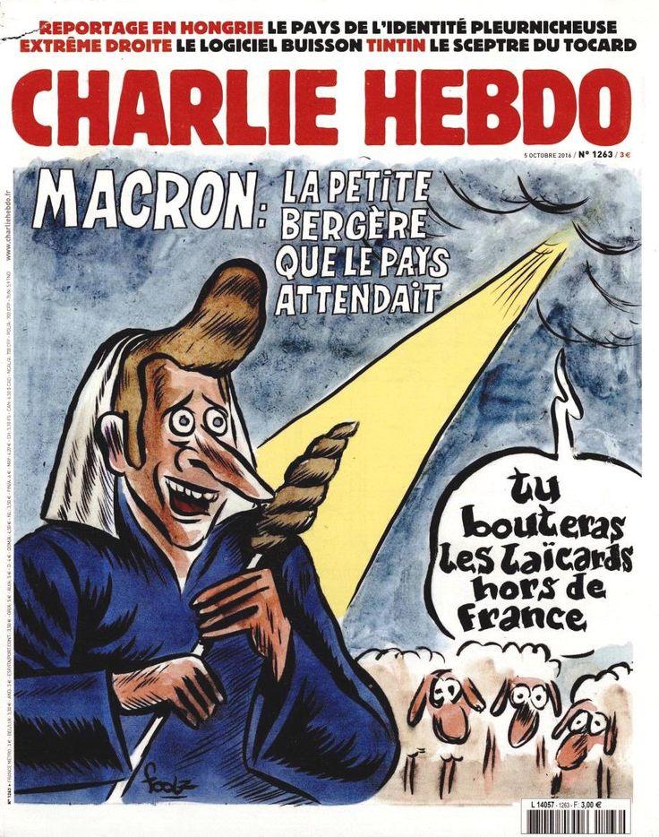 Charlie Hebdo - # 1263 - 5 Octobre 2016 - Couverture : Foolz