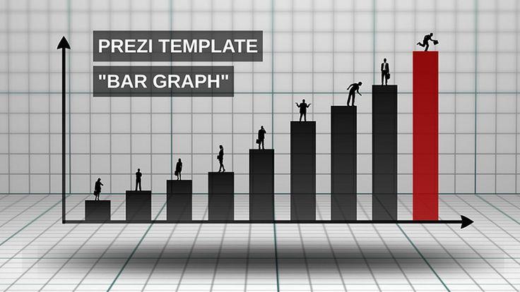 3d bar graph prezi template - Prezi Resume Template