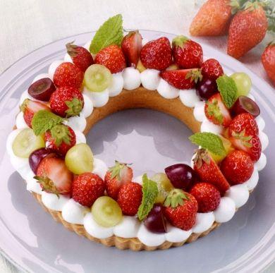 「春のリースタルト」cottaスタッフ | お菓子・パンのレシピや作り方【corecle*コレクル】
