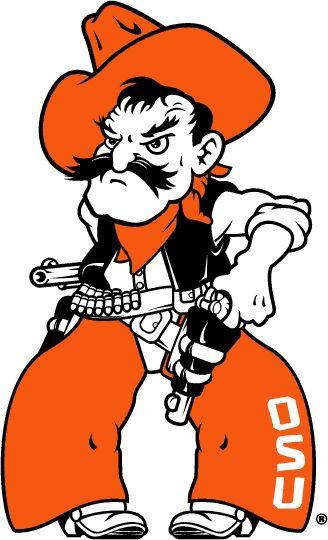 Oklahoma State Cowboys Secondary Logo (2001) - Pistol Pete