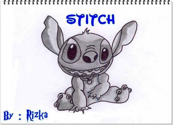 """Stitch """"Teknik Arsiran Perdana"""""""