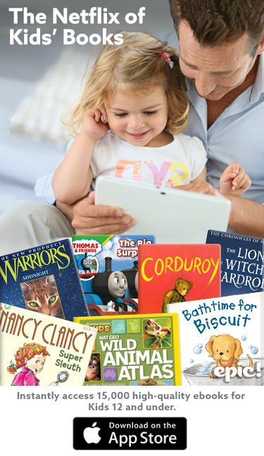 Instantly access and Read the Best Children's Books of All Time.