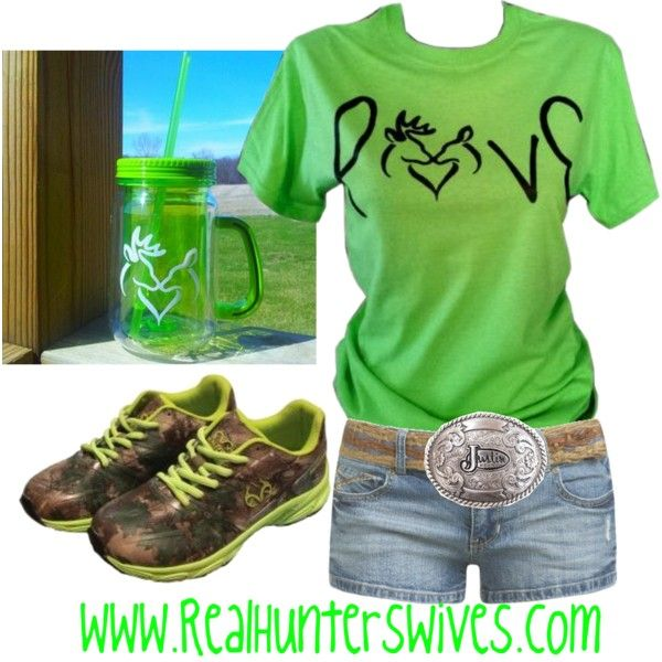 """Mean and GREEN"" by realhunterswives on Polyvore"
