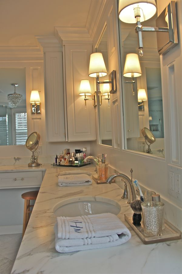 28 best images about master bath on pinterest Bathroom sconce lighting ideas