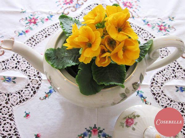 Diy - Una teiera per fioriera