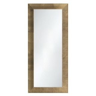 Selections by Chaumont Waterford Champagne Floor Length Mirror | Overstock.com Shopping - The Best Deals on Mirrors