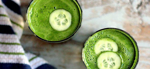 11 recetas de zumos verdes para 11 beneficios para tu salud