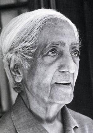 Jiddu Krishnamurti - one of the most important spiritual teachers and philosophers in the 20th century