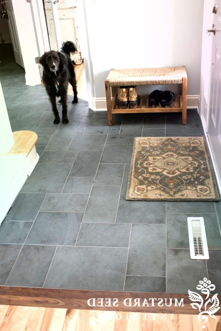 Montauk Blue Slate Tile Im Foyer Blue Foyer Montauk Slate Tile Slate Tile Floor Slate Tile Entryway Tile
