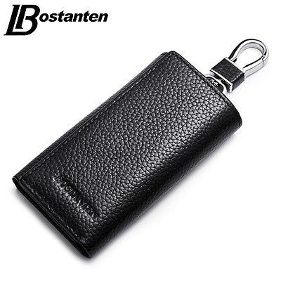 Brand Leather Vintage Key Case Cash Money Wallet Key Chain Holder Bag Pouch New