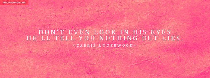 Carrie Underwood Cowboy Casanova Lyrics Facebook Cover