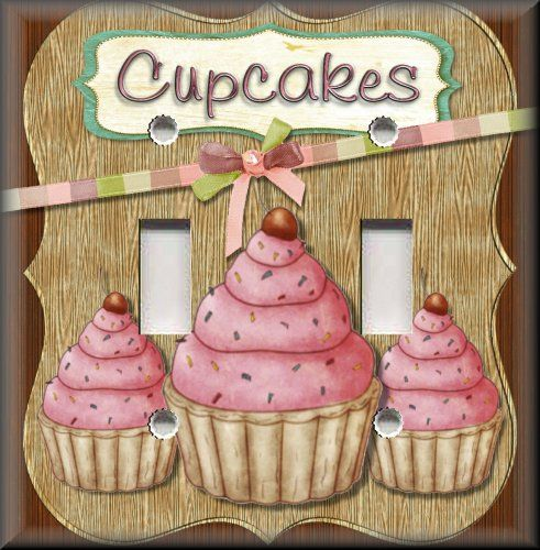 Light Switch Plate Cover   Kitchen Decor   Cupcakes For Sale .