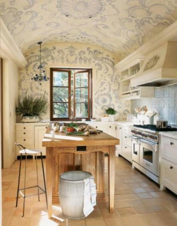Ahh French Country Kitchen