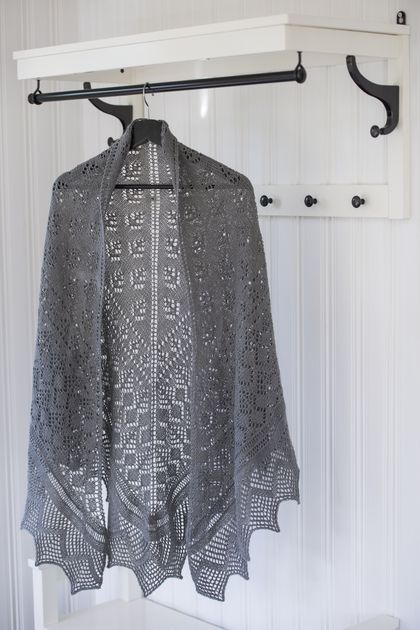 Novita lace patterns, shawl made with Novita Venla yarn #novitaknits https://www.novitaknits.com/en