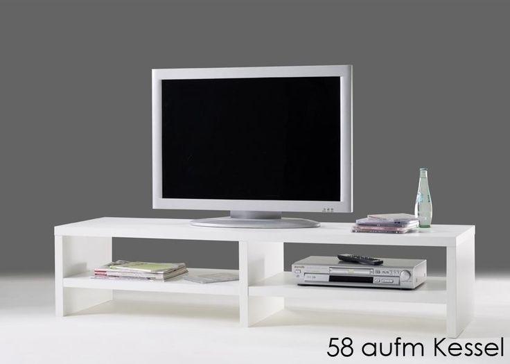 Lowboard design möbel weiss  25+ best Lowboard weiß holz ideas on Pinterest | Sideboard weiß ...