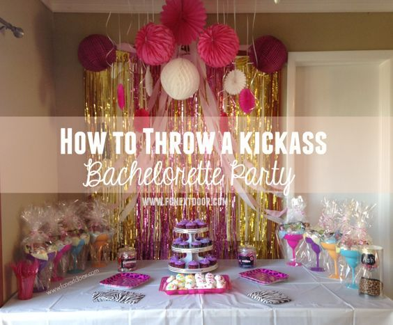 How to Throw a Bachelorette Party. It's wedding season! Is your BFF getting hitched? Throw her the coolest bachelorette party ever. Check out our must-have games, ideas and more! #bachloretteparty