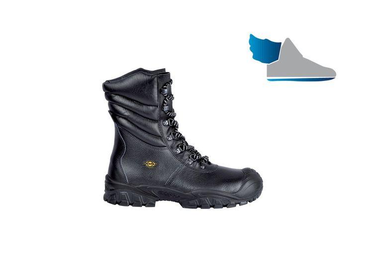 Zimné, vysoké topánky  NEW URAL UK S3 CI SRC  aj do ťažších pracovných podmienok.