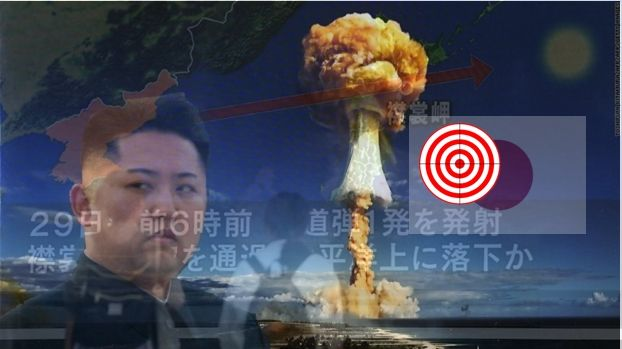 Kim Jong-Un ar putea avea tinta japonia (si nu sua) dupa ce ultimul test cu o rachetă balistică a trecut deasupra Japoniei.    Kim Jong-Un ...
