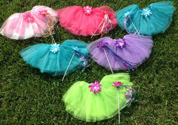 6 Winx Club Fairy TutuFairy Wand Party Favors by partiesandfun, $63.00