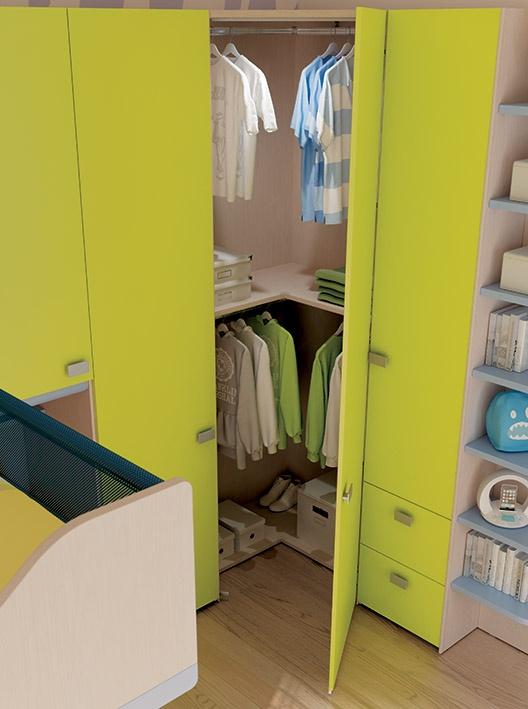 Pi di 25 fantastiche idee su letti a soppalco per bambini for Piani di combo bagno e armadio combo
