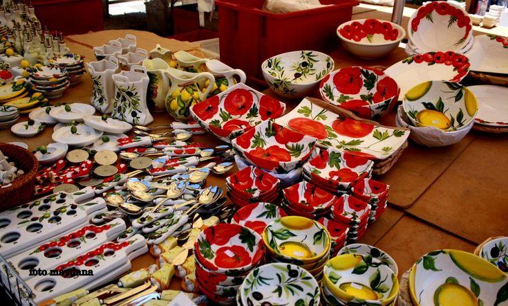 Prachtig kleurenspel op Italiaanse markt