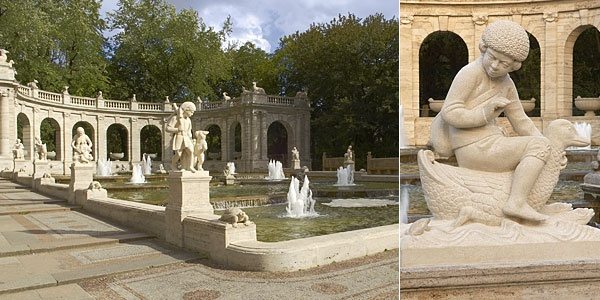 Friedrichshain Park - Marchenbrunnen Fairy Tale Fountain
