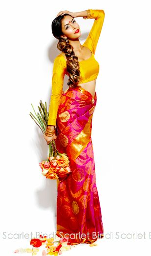 Scarlet Bindi - South Asian Fashion: OHM Magazine: Modern and Trendy, indian chiquita lady if you will ;]