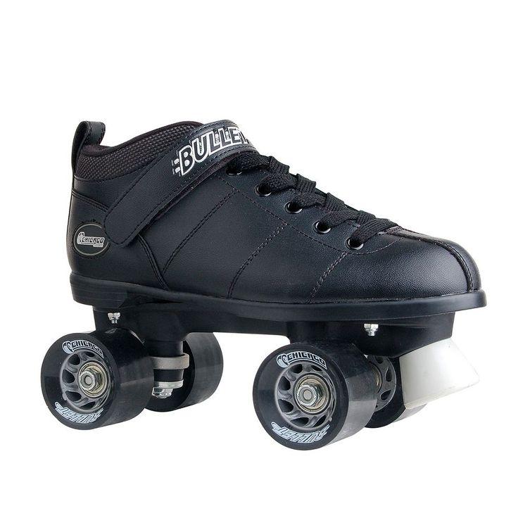 Chicago Skates Bullet Speed Skate - Boys, Black