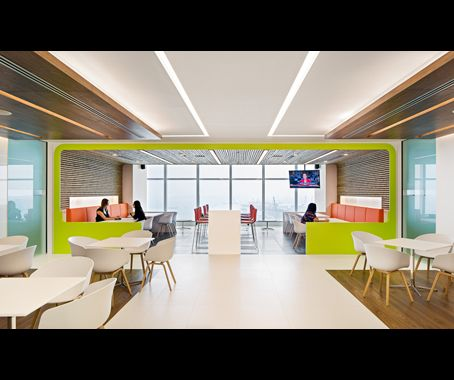 Idea This Regional Office For Clifford Chance Conforms To A Law Firms Global Guidelines But Injects Its Own Personality In The Cafeteria Via Walnut And