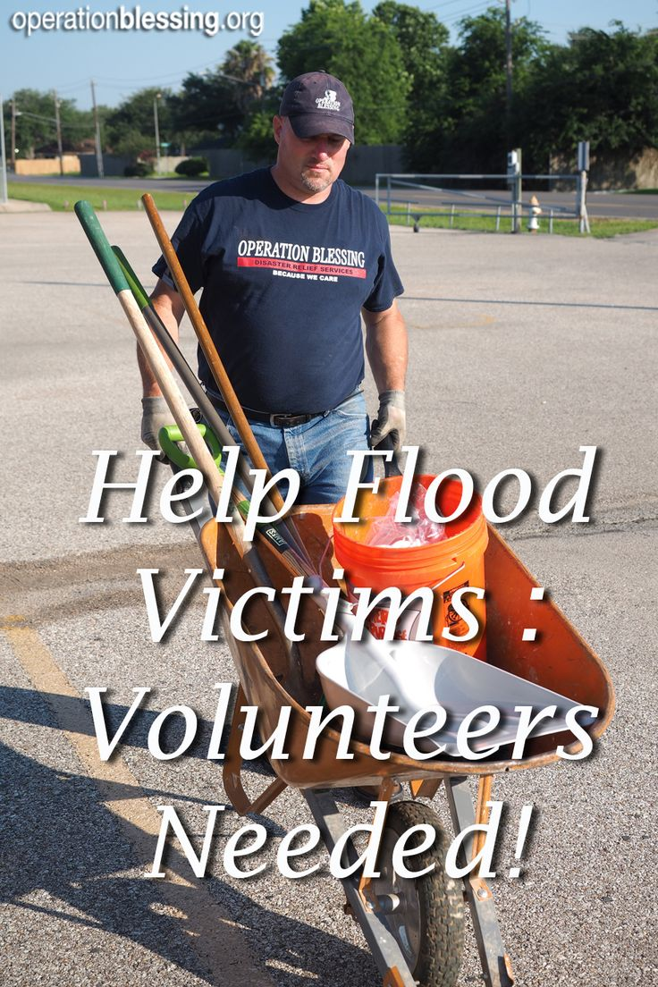 how to work in disaster relief