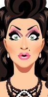 Ben dela Creme from RuPaul's DragRace by Chad Sell