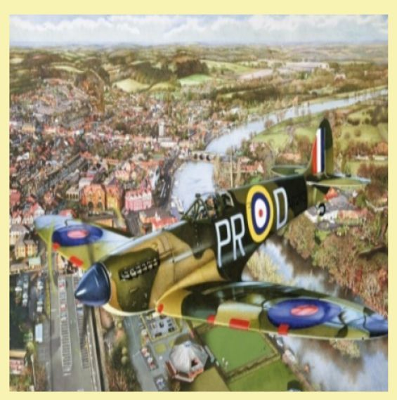 For Everything Genealogy - Spitfire Over Henley Aviation Themed Maestro Wooden Jigsaw Puzzle 300 Pieces, $90.00 (http://www.foreverythinggenealogy.com.au/spitfire-over-henley-aviation-themed-maestro-wooden-jigsaw-puzzle-300-pieces/)