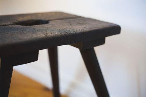 WW II German stool