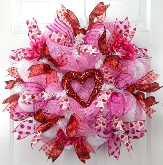 349 Best Valentine Crafts Images On Pinterest Valentine Crafts   Pink  Valentine