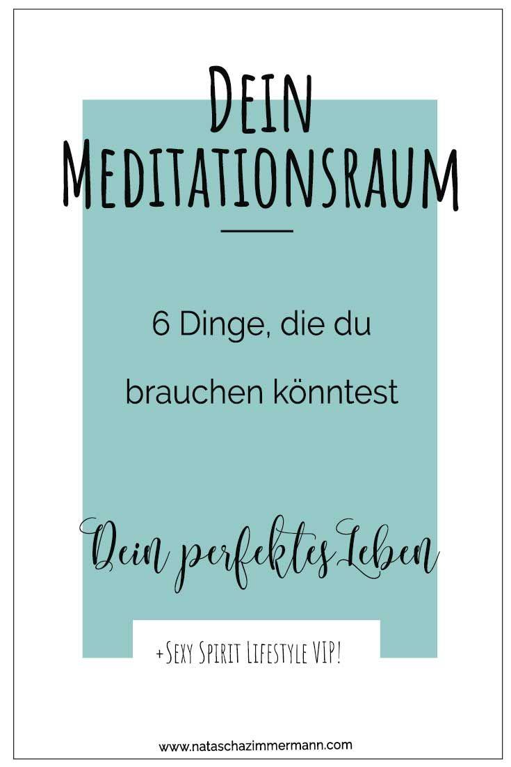 6 Dinge, Die Du Für Deinen Eigenen Meditationsraum Brauchst