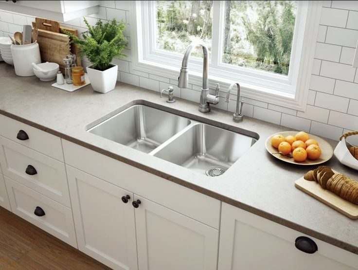 enhance meal prep simplify cleanup and maximize space with a double bowl sink