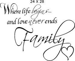 family...love never ends <3