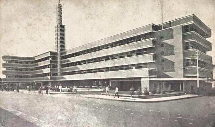 Hotel Savoy Homann, Bandung 1954