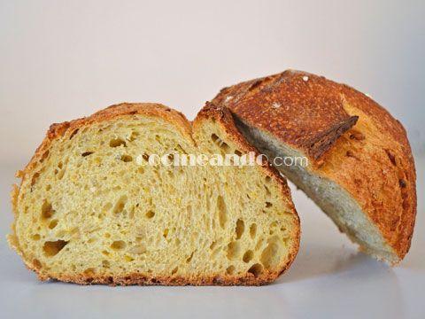 Receta de pan de maíz casero- Cocineando