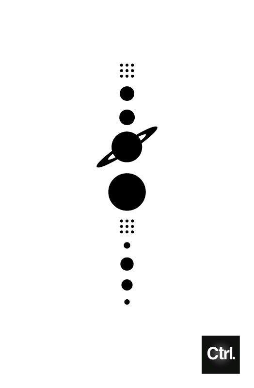 Ideas, minimalistic solar system 2