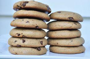 Organic Nut-Free Paleo Chocolate Chip Cookies Using TigerNut Flour, gluten-free and nut-free chocolate chip cookies, gluten-free nut-free…