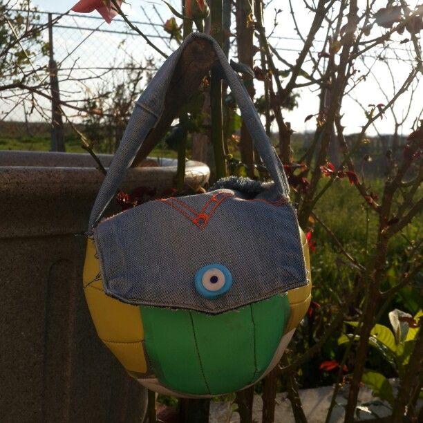 I did ball bag