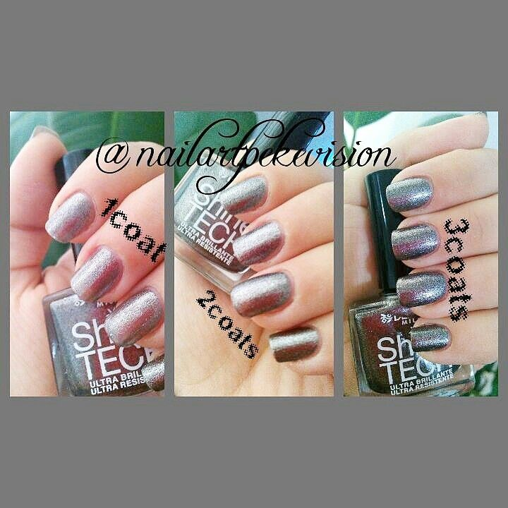 Deborah Milano number 83 ( grey/silver color) what you think, with 1 2 or 3 coats. #naillacquer #naillove #nailartaddict #nailartstyle #nailpolish #nailart01 #nailswow #nailartlovers #nailpolishswatch #nail #nailsblogger #nailblogger #swatch #fsog #followme #fashion #tagsforlike #deborahmilano