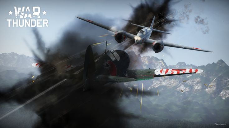 Screen captured during my War Thunder game. #warthunder #j2m2 #ki45