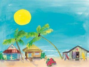 Surf Joy - Beach Artwork