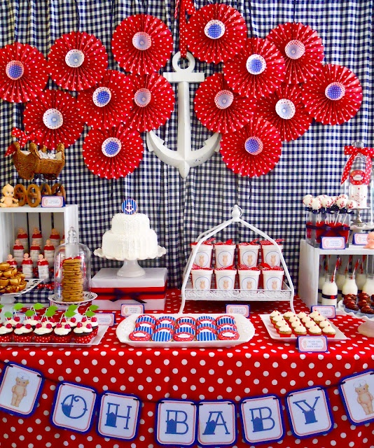 Oh Sugar Events Retro Baby Shower Oh Baby Baby Baby